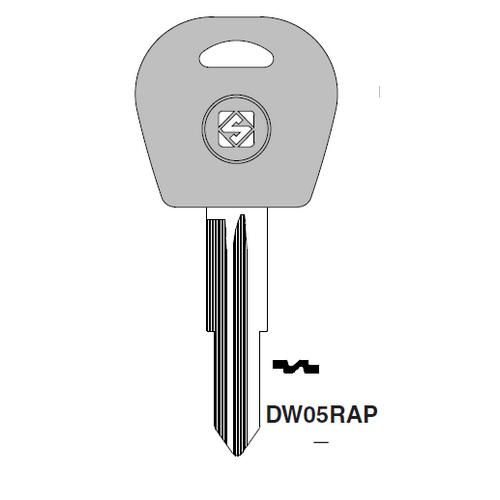 Ilco  DW05RAP Daihatsu Plastic Head Key Blank