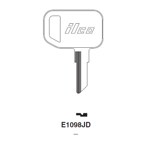 Ilco E1098JD Key Blank : John Deere