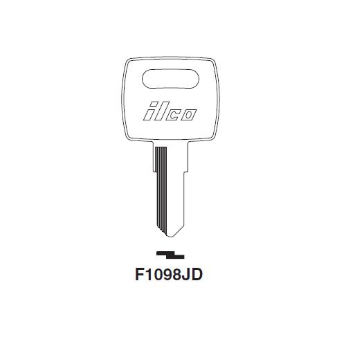 Ilco F1098JD Key Blank : John Deere