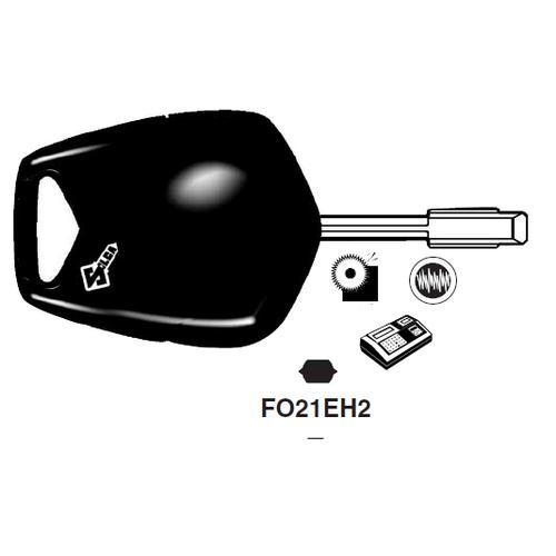 Ilco FO21EH2 Electronic Key Blank; Jaguar