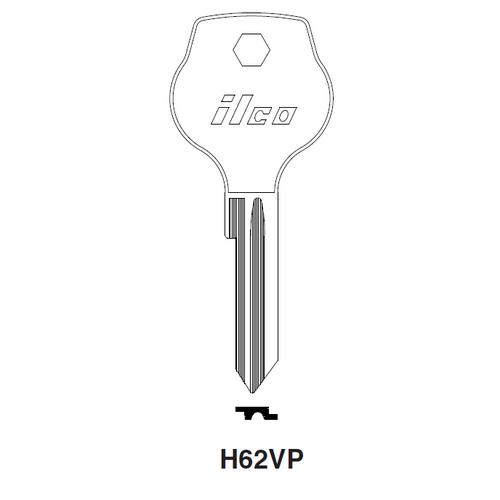 Ilco H62VP Key Blank : Opel