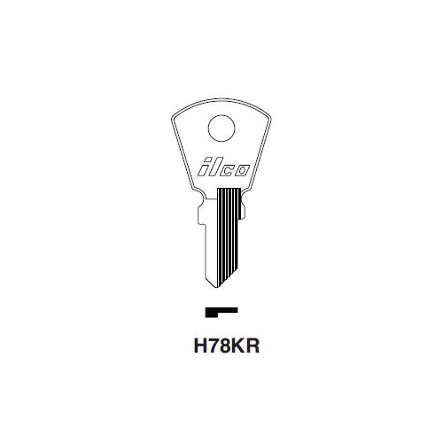 Ilco H72KR Key Blank : Harley Davidson