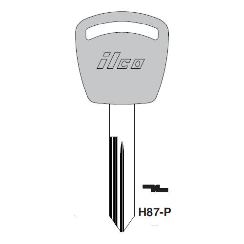 Ilco  H87-P Ford Plastic Head Key Blank
