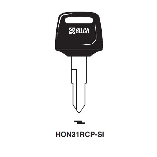 Ilco  HON31RCP-SI Honda Motorcycles, Kymco Plastic Head Key Blank; ( HD74,  X84 )