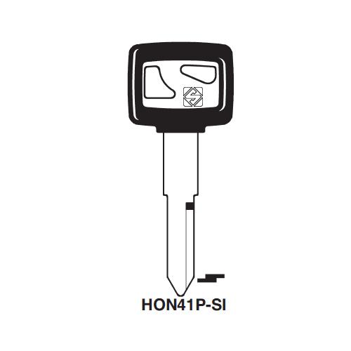 Ilco  HON41P-SI Honda Motorcycles, Kymco Plastic Head Key Blank; ( HON41-SI )