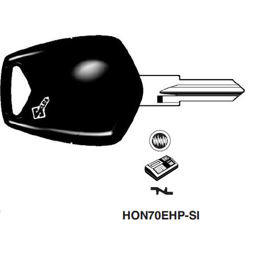 Ilco HON70EHP Electronic Key Blank; Honda Motorcycles, Kymco