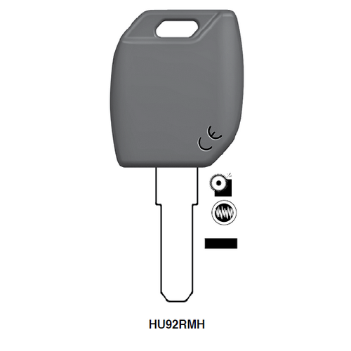 Ilco HU92RMH Electronic Clonable Key Blank; Bmw