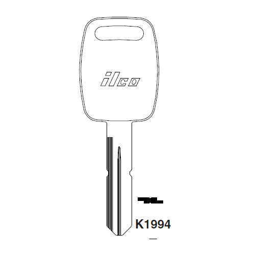 Ilco K1994 Key Blank : Kenworth, Peterbilt