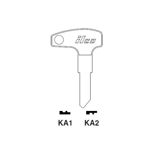 Ilco KA1 Key Blank : Kawasaki