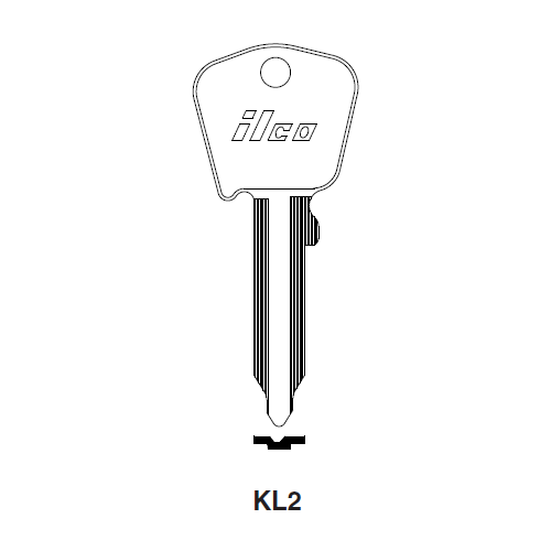 Ilco KL2 Key Blank : Ford International, Jaguar