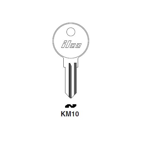 Ilco KM10 Key Blank : Peugeot