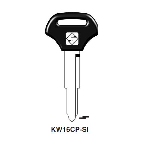 Ilco  KW16CP Kawasaki Plastic Head Key Blank