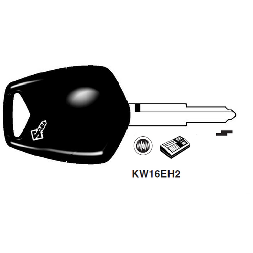 Ilco KW16EH2 Electronic Key Blank; Kawasaki