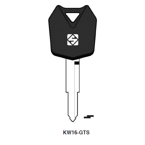 Ilco KW16-GTS Chipless Key Blank; KAWASAKI MC