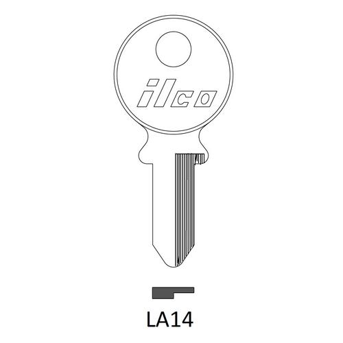 Ilco LA14 Key Blank : Lambretta