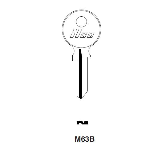 Ilco M63B Key Blank : Lloyd