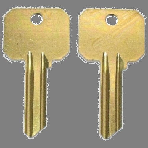 Ilco 999, Y1 Neuter Bow Key Blank : Yale