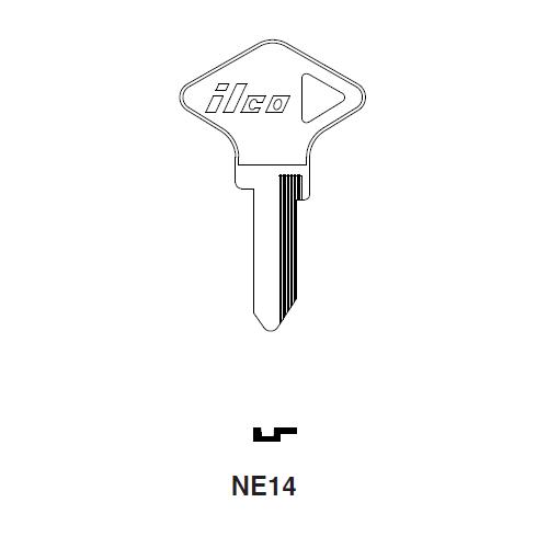 Ilco NE14 Key Blank : Renault