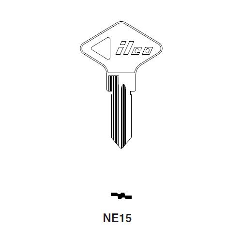 Ilco NE15 Key Blank : Renault