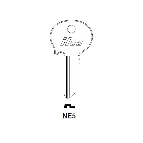 Ilco NE5 Key Blank : Borguard, Heinkel, Saab