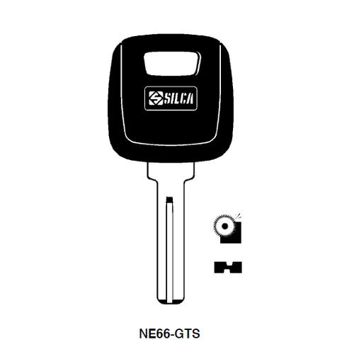 Ilco NE66-GTS Chipless Key Blank; Volvo