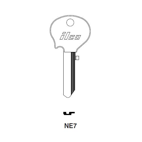 Ilco NE7 Key Blank : B&S Strattec, Ford International, Tempo