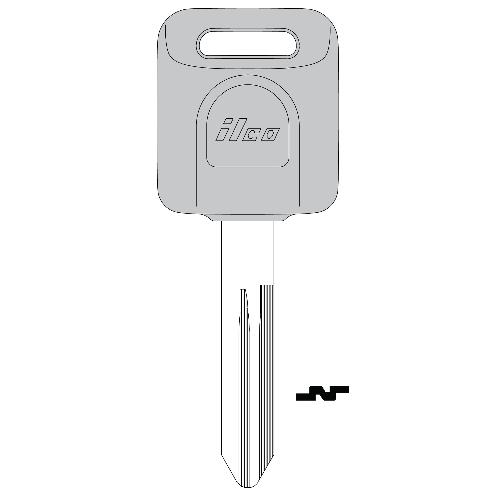 Ilco NI07T Transponder Key Blank; Nissan Rogue