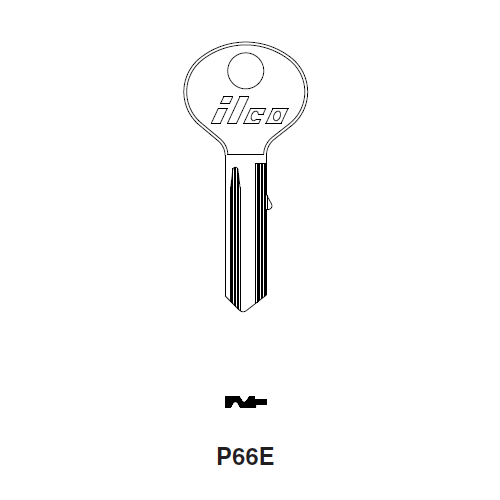 Ilco P66E Key Blank : Puch-Sears
