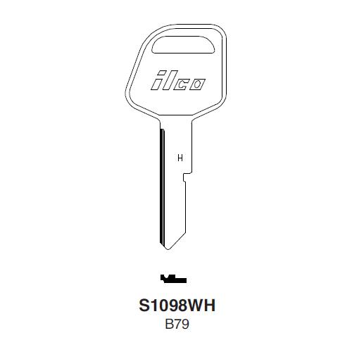 Ilco S1098WH (B79) Key Blank : General Motors