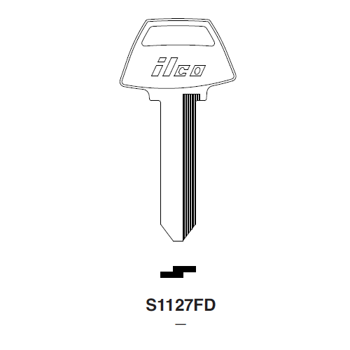 Ilco S1127FD Key Blank : Ford