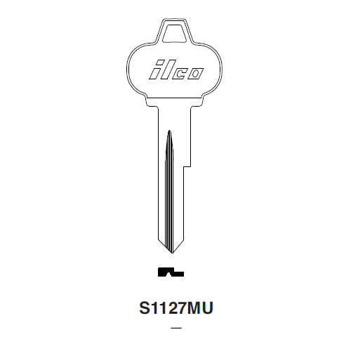 Ilco S1127MU Key Blank : Ford