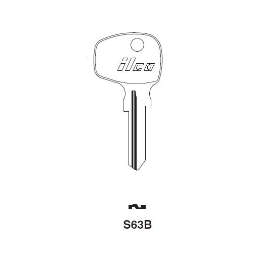Ilco S63B Key Blank : VW