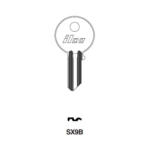 Ilco SX9B Key Blank : Yale - 19E1R