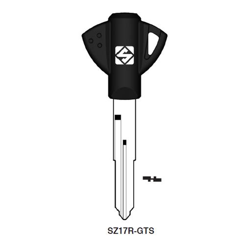 Ilco SZ17R-GTS Chipless Key Blank; SUZUKI MC