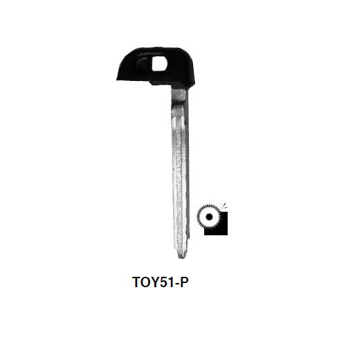 Ilco  TOY51-P Toyota Prox Emergency Key Plastic Head Key Blank