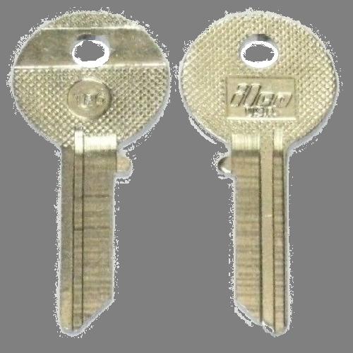 Ilco TP6 Key Blank : Toyota