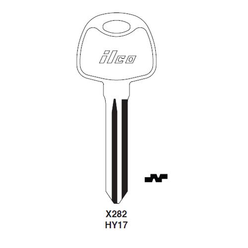 Ilco X282 Key Blank