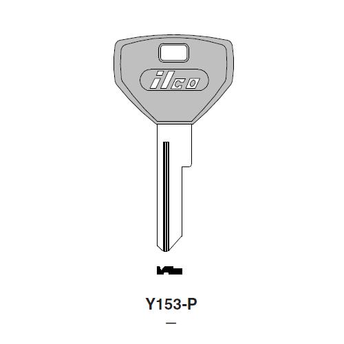 Ilco  Y153-P Briggs & Stration Plastic Head Key Blank; ( Y153,  P1786 )