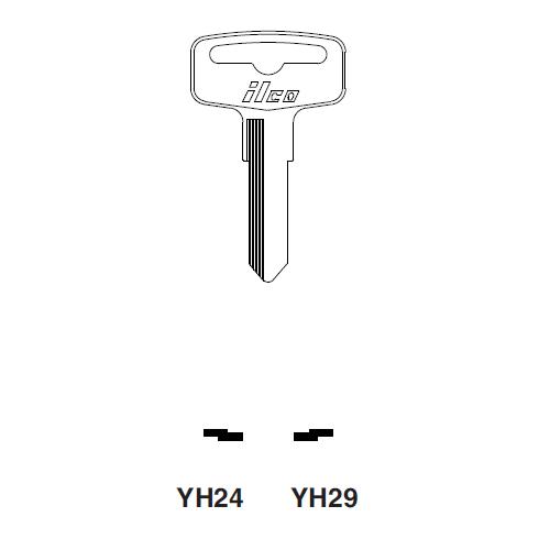 Ilco YH29 Key Blank : Yamaha