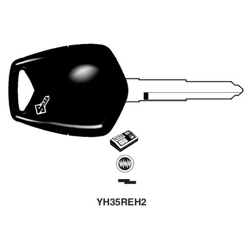 Ilco YH35REH2 Electronic Key Blank; Yamaha