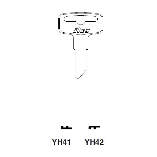 Ilco YH42 Key Blank : Yamaha