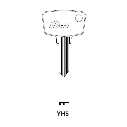 Ilco YH5 Key Blank : Yamaha