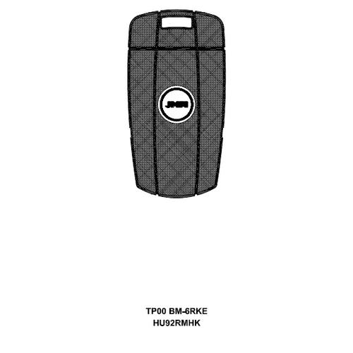 JMA TP00BM-6.RKE Chipless Key Blank; BMW