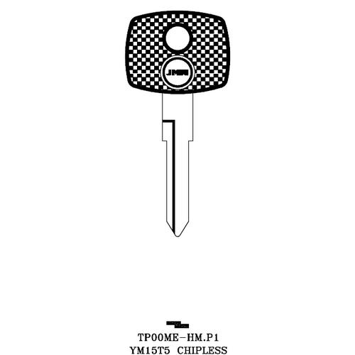 JMA TP00ME-HM.P1 Chipless Key Blank; MERCEDES - YM15T5