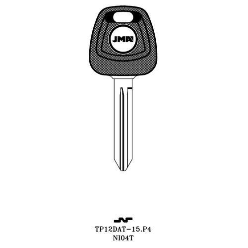 JMA NI04T Transponder Key Blank; Infiniti, Nissan