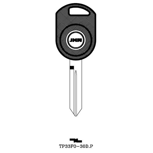 JMA H92PT Transponder Key Blank; Ford