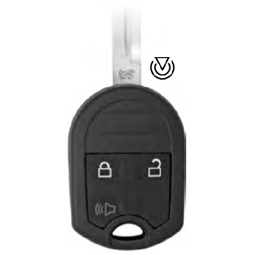 Ilco RHK-FORD-3B1 Ford 3 Button Remote Head Key (NL)