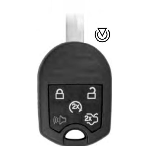 Ilco RHK-Ford-5B1 Ford 5 Button Remote Head Key