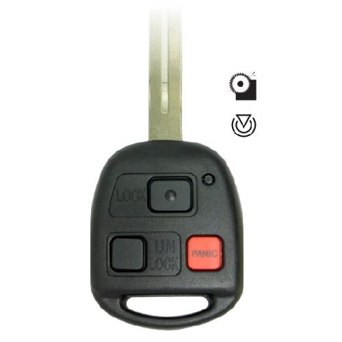 Ilco RHK-Lexus-3B3 Lexus 3 Button 4D68 Remote Head Key